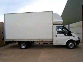 Man and big luton van 07456 697507 for house move or garden waste hedges trees