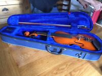 Violin, Stentor Standard Student 4/4 with case and bow - near new condition
