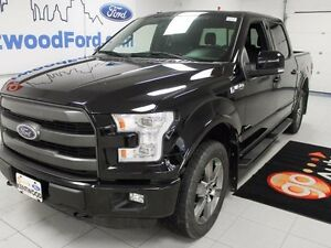 2016 Ford F-150 fully loaded LARIAT with FX4 pkg AND ecoboost!