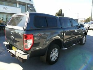 2013 Ford Ranger PX XLT Double Cab Metropolitan Grey 6 Speed Sports Automatic Utility Telarah Maitland Area Preview