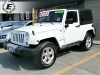 2013 Jeep Wrangler Sahara LOW KMS