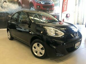 2016 Nissan Micra K13 MY15 ST Black 4 Speed Automatic Hatchback Rockingham Rockingham Area Preview