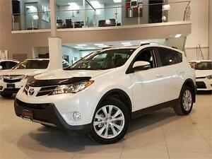2013 Toyota RAV4 LIMITED-AWD-LEATHER-SUNROOF-REAR CAMERA