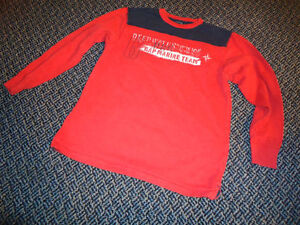 Boys Size 12 Red Long sleeve **GAP*** Marine Team T-Shirt