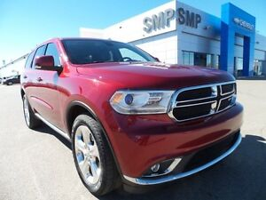 2015 Dodge Durango Limited, leather, sunroof, rem. start, DVD, S