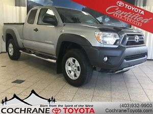 2014 Toyota Tacoma SR w/TRD EXHAUST, RUNNING BOARDS, LOW KM!!!!