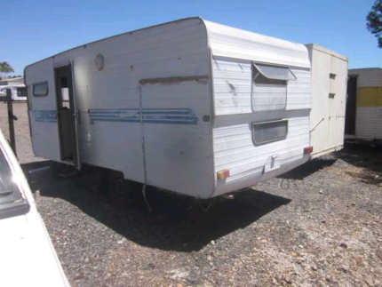 FREE CARAVAN AND TRAILER REMOVAL..
