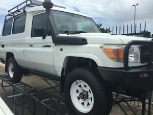 2015 Toyota Landcruiser VDJ78R MY12 Update Workmate (4x4) 11 Seat White 5 Speed Manual TroopCarrier Parap Darwin City Preview