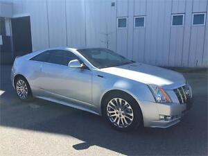 2012 CADILLAC CTS COUPE ALL WHEEL DRIVE 94KM
