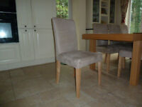 IKEA HENRISKDAL CHAIRS - 8 AVAILABLE - £120 for 8 OR £65 for four