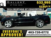 2014 Ford Mustang GT 5.0 $199 bi-weekly APPLY NOW DRIVE NOW