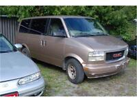 1998 GMC Safari van - $300 as is -