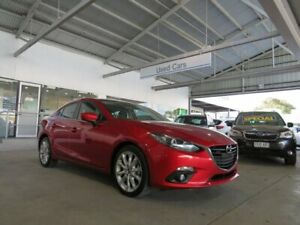 2013 Mazda 3 BM5238 SP25 SKYACTIV-Drive Red 6 Speed Sports Automatic Sedan Edwardstown Marion Area Preview