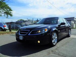 08 SAAB 9-5 AERO! POWERFUL 260 HP!TWO SETS OF TIRES! CERTIFIED!