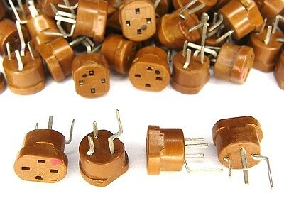 10pcs Nos Vintage 4 Pin Transistor Test Prototype Socket Terminal Connector New