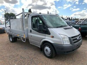 2008 Ford Transit VM LWB Silver 6 Speed Manual Cab Chassis Minchinbury Blacktown Area Preview