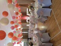 Wedding lanterns 140 light peach, peach and pink. Main colour peach)