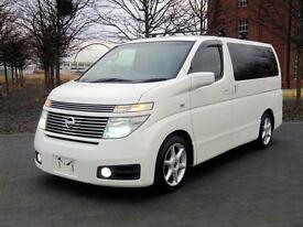 NISSAN ELGRAND E51 HIGHWAY STAR VERSION L 3.5 AUTOMATIC * HALF LEATHER 8 SEATER