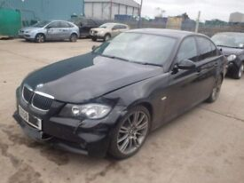 BREAKING BMW 3 SERIES E90 320D M SPORT 2009 DIESEL AUTO BLACK SALOON 58K