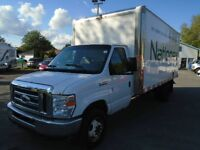 FORD E-450 CUBE 16 FT DIESEL 6.0L 2008 ** A/C FROIDE **