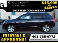2013 Jeep Compass North 4x4 $119 bi-weekly APPLY NOW DRIVE NOW