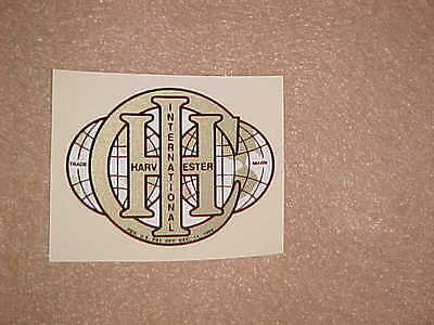 International Harvester Ihc 1.5 Hp Hit Miss Gas Engine Motor Decal