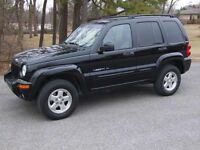 2002 Jeep Liberty Limited 4 X 4