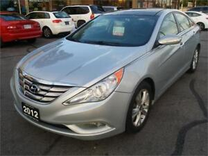 2012 Hyundai Sonata Limited, Navigation, Dual Sunroof, Leather!!