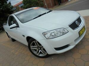 2011 Holden Commodore VE II Omega White 6 Speed Automatic Utility Belconnen Belconnen Area Preview