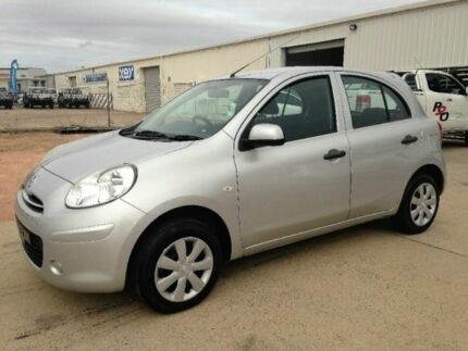 2013 Nissan Micra K13 MY13 ST Silver 5 Speed Manual Hatchback