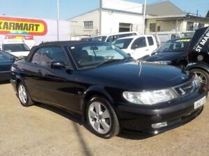 2002 Saab 9-3 MY2002 Anniversary Black 4 Speed Automatic Convertible North St Marys Penrith Area Preview