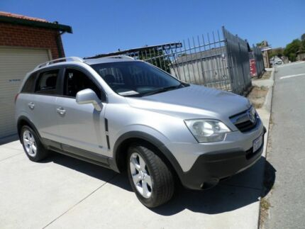 2007 Holden Captiva CG MY08 MaXX AWD Silver 5 Speed Sports Automatic Wagon Mount Lawley Stirling Area Preview