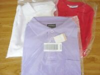 CHILDREN'S POLO TOPS SIZE 11 TO 13 YEARS X 3
