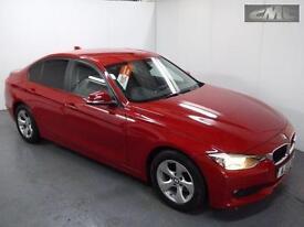 BMW 3 SERIES 320D EFFICIENTDYNAMICS SALOON, Red, Manual, Diesel, 2013