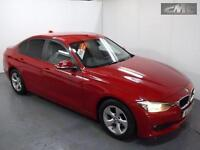 BMW 3 SERIES 320D EFFICIENTDYNAMICS, Red, Manual, Diesel, 2013