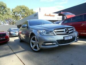 2012 Mercedes-Benz C250 W204 MY12 CDI BE Silver 7 Speed Automatic G-Tronic Coupe Fawkner Moreland Area Preview