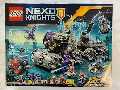LEGO 70352 NEXO KNIGHTS - JESTRO'S HEADQUARTERS - RETIRED SET FACTORY SEALED NEW