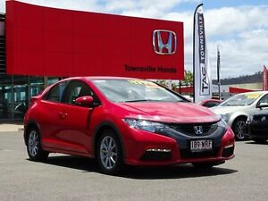 2013 Honda Civic 9th Gen MY13 VTi-S Milano Red 5 Speed Sports Automatic Hatchback Garbutt Townsville City Preview
