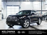 2015 Infiniti QX70 Premium with Navigation and Deluxe Touring Pa