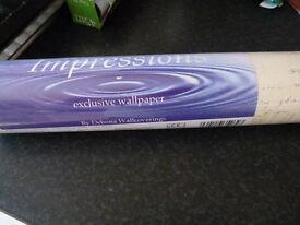 4 rolls unused wallpaper - postcard design