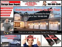Overhead Door Services • 24/7 Same Day • Call (780) 906-3540