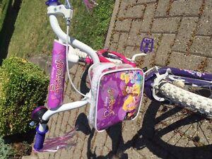 Vélo pour fille, princesse