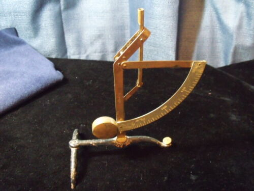 ANTIQUE BRASS PENDULUM  POSTAL LETTER SCALE FREE SHIPPING AS ALWAYS