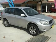 2008 Toyota RAV4 ACA33R MY08 CV Silver 4 Speed Automatic Wagon Fyshwick South Canberra Preview