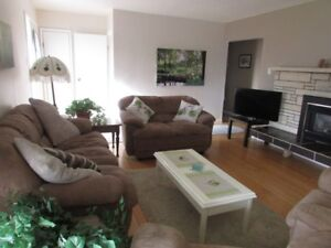 White Rock furnished two bedroom plus, Ocean view home
