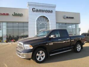 2015 Dodge Ram 1500 SLT; Keyless Entry, Locking Tailgate, Cloth