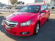 2010 Holden Cruze JG CDX Red 6 Speed Automatic Sedan Woodville Park Charles Sturt Area Preview
