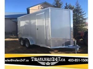 -*-*ALL ALUMINUM CARGO TRAILER*-*- 7ft x 14ft - Tax IN Price