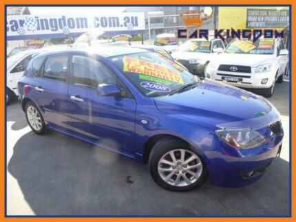 2008 Mazda 3 BK MY08 Maxx Sport Blue 4 Speed Auto Activematic Hatchback Homebush Strathfield Area Preview
