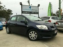 2009 Toyota Corolla ZRE152R Ascent Blue 6 Speed Manual Hatchback Southport Gold Coast City Preview